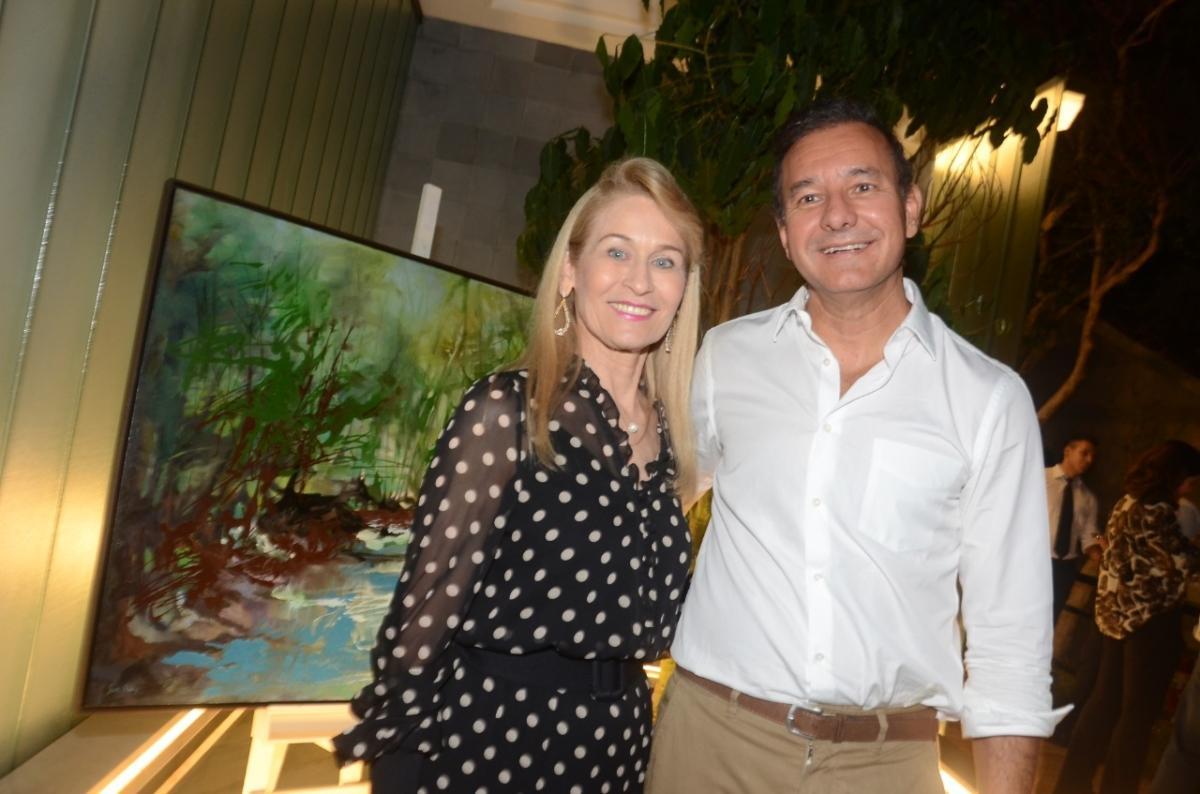 Sueli Dabus e o Arquiteto Olegário de Sá na Casacor SP 2019
